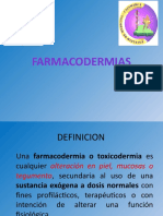FARMACODERMIAS - OTG