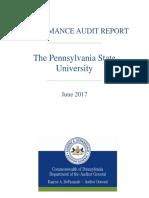 PSU Audit Report