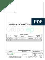 Epm Et-td-me03-18 Especificación Técnica Para Arandelas