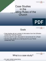 Orthodox Leadership Training