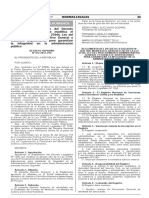 D.S. N° 012-2017-JUS Modifica Ley 27444