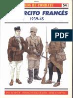 Osprey - Carros de Combate 54 - Ejercito Frances 1939-1945