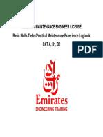 Emirates Logbook