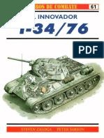 Osprey - Carros de Combate 61 - El Innovador T-34-76