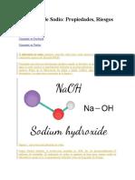 Hidróxido de Sodio