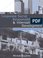 Hopkins M. -Corporate Social Responsibility and International Development_ Is Business the Solution_ (2007).pdf