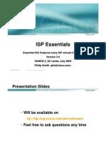 ISP Essentials