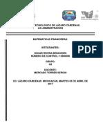 Oscar Matematicas Financieras