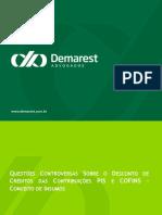 Painel 1 - Questões controversas sobre créditos PIS e COFINS - conceito de insumo.pdf
