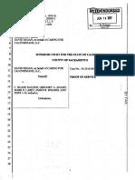 SEIU-UHW Dave Regan's request to drop lawsuit against California Hospital Association