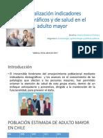 Actualización indicadores demográficos y de salud del adulto