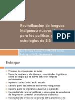 Revitalizacion Lenguas Indigenas Luis Lopez