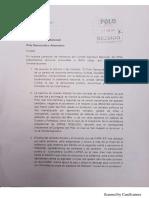 Carta Polo Democrático Alternativo