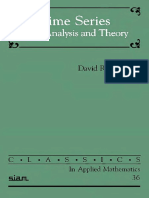 Brillinger D.R. Time Series (SIAM, 2001)