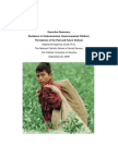 executive summary- resilience in undocumented unaccompanied children- perceptions of the past and future outlook
