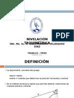 1. NIVELACION TAQUIMETRICA
