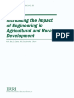 Increasing the Impact of Engineering in Agricultural and Rural Development