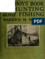 Boys Book of Hunting and Fishing 1916