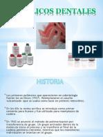 acrilicos dentales