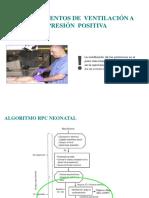 Instrumentos de Ventilación a Presión Positiva