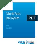 Taller Ventas Lenel 2016 Q1
