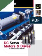 Catalogo de Motores Servo DC