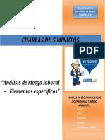 5.60 Analisis de Riesgo Laboral Elementos Especificos.