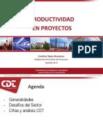 Presentación CDT Productividad en La Construcción