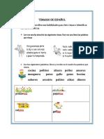 Temario de Español