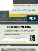 Clase III Estequiometria