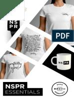 Nspr Essentials Booklet Layout