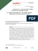 Vigotski e o ensino de arte - a educação estética.pdf