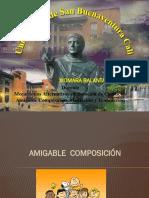 Amigable Composición y Transacción 2015