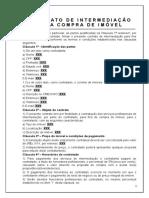 Contrato Intermediacao Compra
