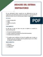Exposicion Sistema Respiratorio Karol Enfermedades