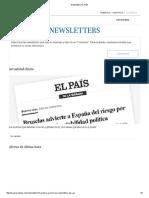 Newsletters EL PAÍS