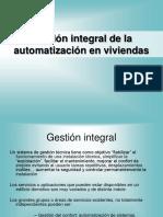 Gestion Integral Automatizacion Viviendas