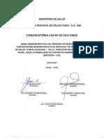 Convocatoria Cas 05-2017