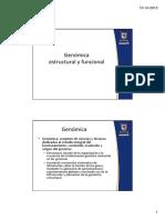 Genomica Estructural y Funcional 2012