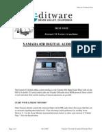 Yamaha 02R Manual