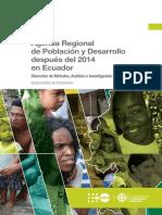 AGENDA REGIONAL DE POBLACION Y DESARROLLO DESPUES 2014 ECUADOR.pdf
