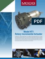 500-1077 Model HT1 Rotary Incremental Actuator Datasheet 122216