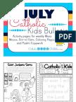 2017 July Catholic Kids Bulletin