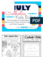 2017 July Catholic Kids Bulletin