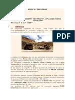 Noticias Peruanas Morococha