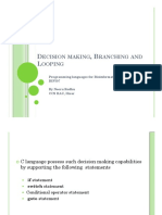 4 - Decision Making_ Branching and Looping