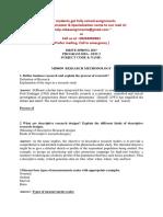 MB0050 - Research Methodology