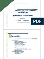 XML Intro y Semiestructurados