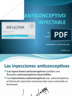 ANTICONCEPTIVO INYECTABLE