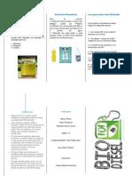 Qué Es El Biodiesel